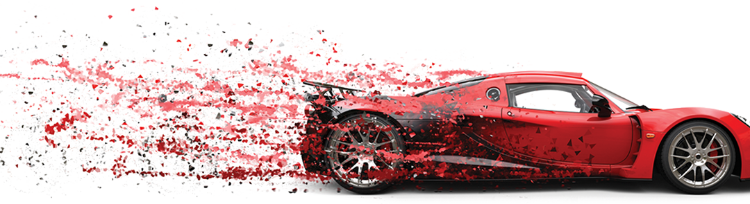 SEMA Show 2017 red car graphic image from show.