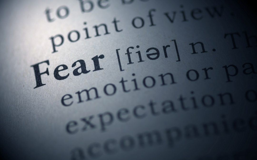 Definition of fear.